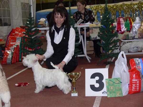 Assoll Vilniaus Vesta Puppy Best In Show III, Vilnius CAC, 20071201